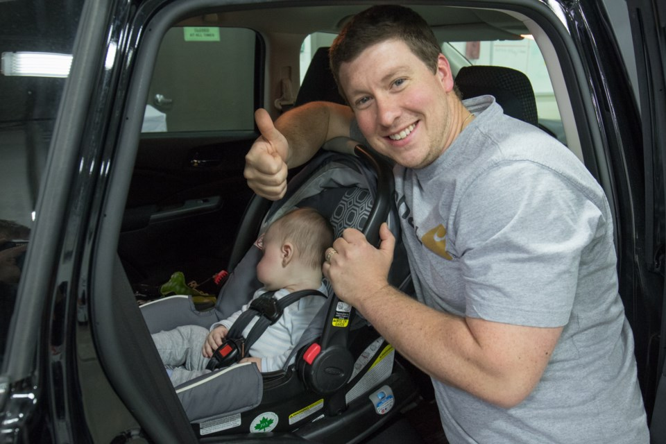 Peter Ryan With His Son Jack 4 Mo Never Had To Get