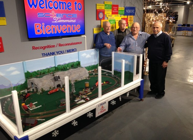 Science Timmins Model Train Picture