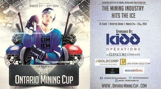 Ontario Mining Cup Hockey