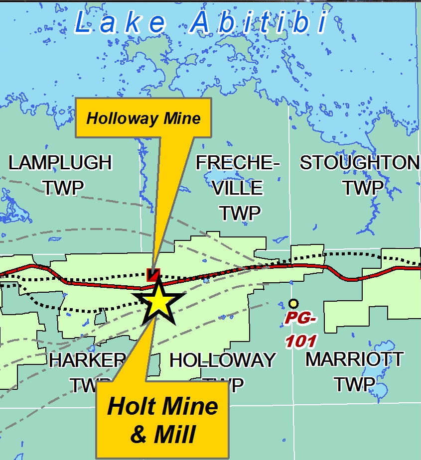 Mine Site Map Example: Police Investigating Fatal Mine Site Accident